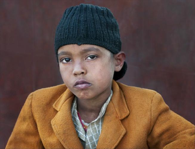 Delhi Schoolboy - Kate Jackson