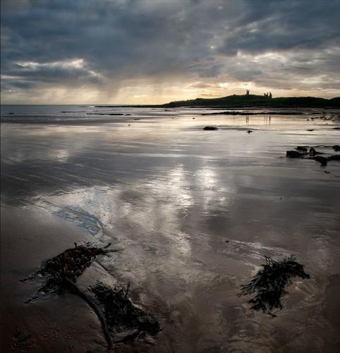 Dunstanburgh Reflections - Kate Jackson