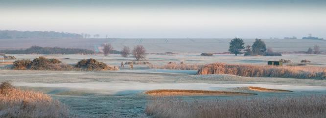 Frosty Morning On The Golf Course - Martin Leech