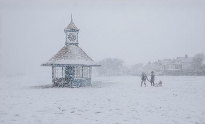 Out in the Blizzard - Martin Leech
