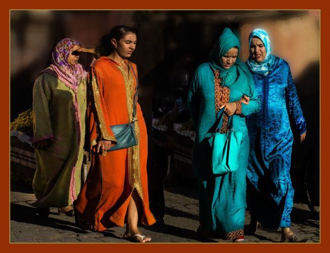 Colours of Marrakech - Phil Brew