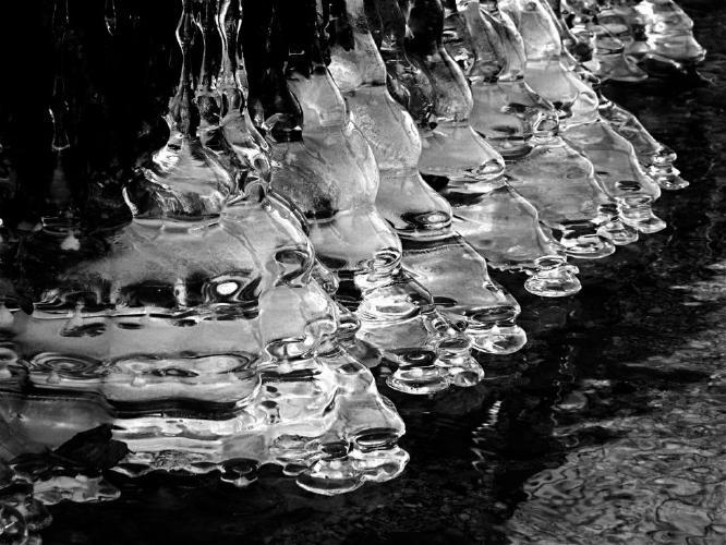 Crinoline icicles - Phil Brew