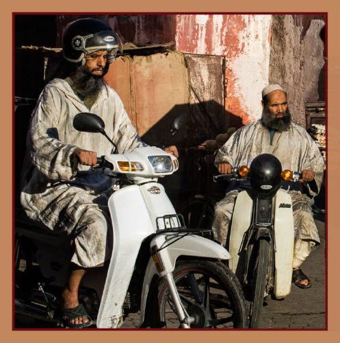 Marrakech Bikers - Phil Brew