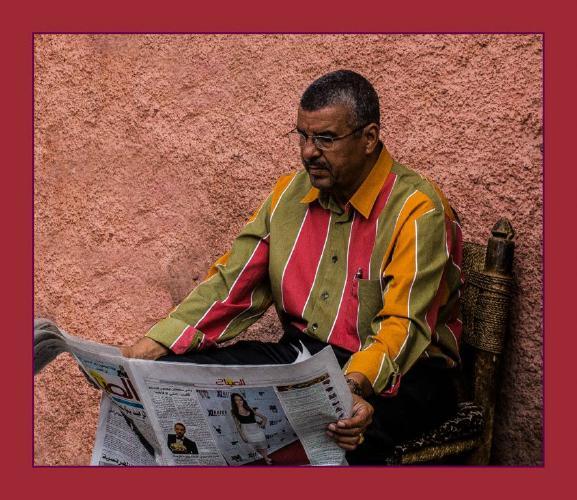 The News Reader - Phil Brew