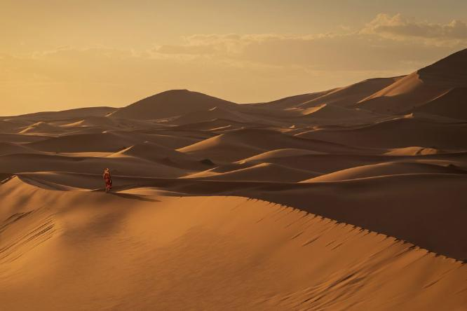 Bedouin in the Sahara - Rob Moore