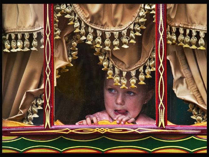 Gypsy Girl in a Caravan - Rodney Woods