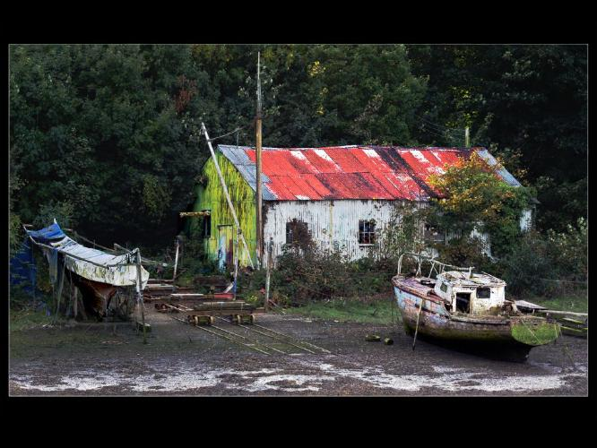 The Old Boat Shed - Rodney Woods