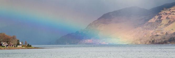 Approaching Storm along Loch Duich - Steve Robinson