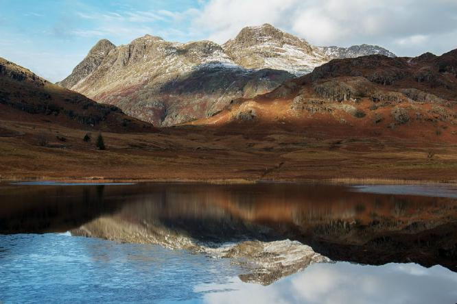 Blea Tarn and the Langdales - Steve Robinson