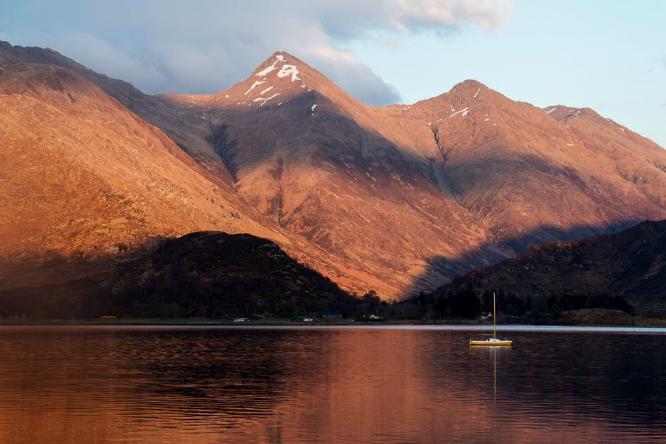 Evening Light Loch Duich - Steve Robinson