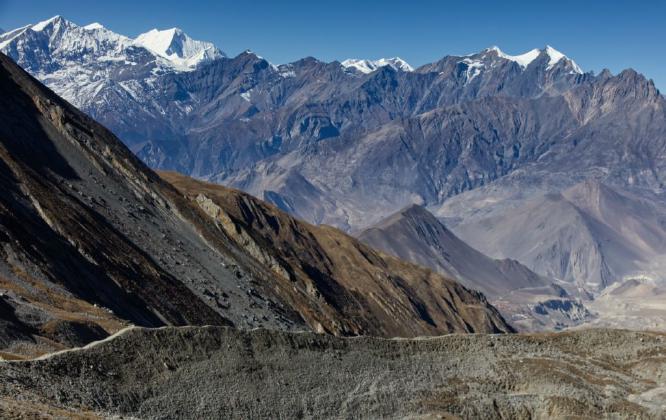 Himalayan Rocky Landscape - Steve Robinson