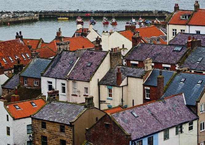 Rooftops in Staithes - Steve Robinson
