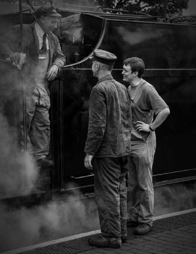 Steam Train Crew - Steve Robinson