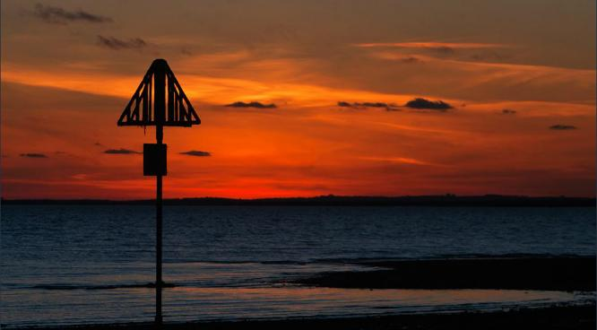 Sunset on Mersea Island - Steve Robinson