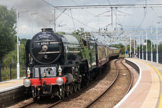 Tornado at Hythe Station - Steve Robinson