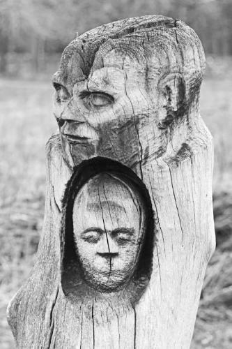 Tree Trunk Sculpture - Steve Robinson