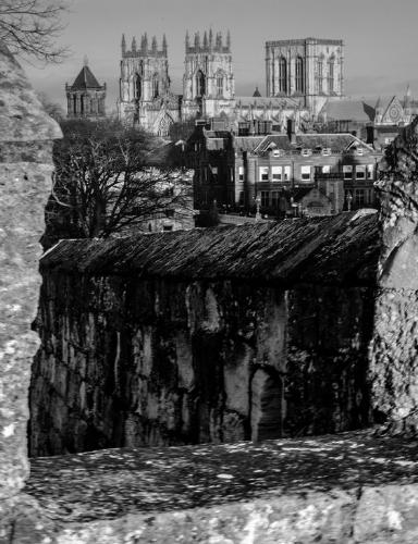 York Minster from the Walls - Steve Robinson