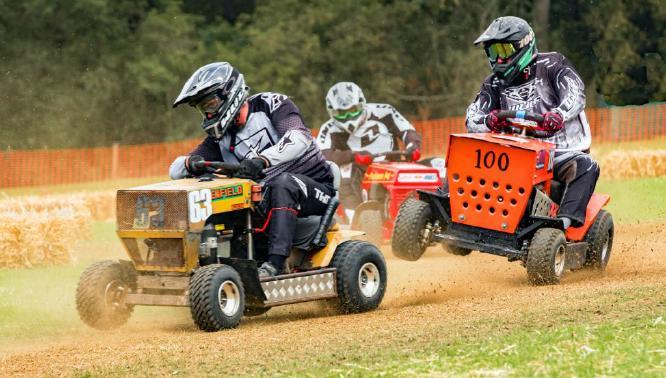 Lawnmower Racing - Terry Stone