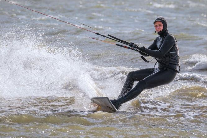 Mersea Kite Surfer - Terry Stone
