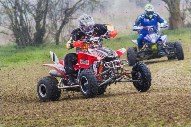 Quad Bike Racing - Terry Stone