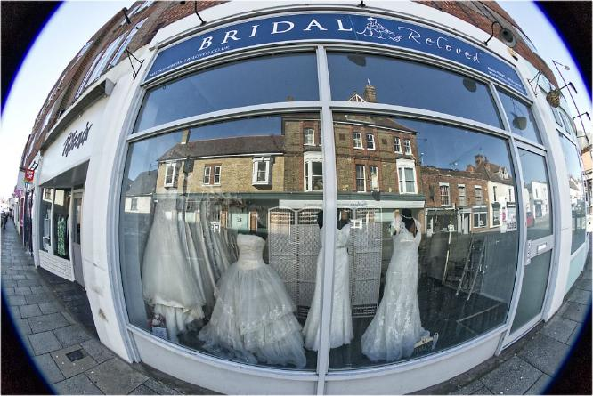 Reflections In Bridal Shop Maldon High Street - Terry Stone