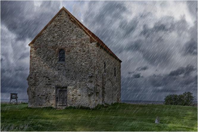 Storm Over St Peters - Terry Stone