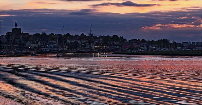 Sunset Over Maldon Prom - Terry Stone