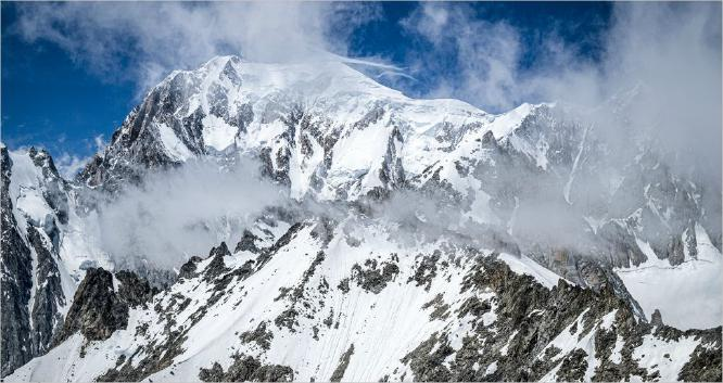 Mont Blanc French Alps - Vic Hainsworth